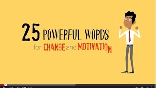 25 Powerful Words For Change & Motivation