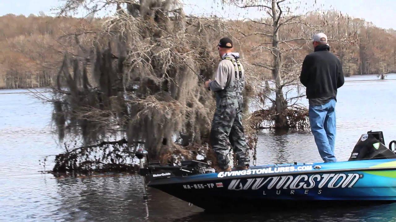 Brent chapman 39 s pro vs joe caddo lake youtube for Caddo lake fishing report