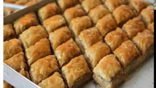 Пахлава медовая из слоеного теста  Быстрый рецепт приготовления!