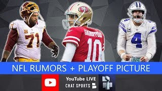 NFL Rumors, Trent Williams Latest, AJ Green, News, Andy Dalton Future & Playoff Picture + Q&A