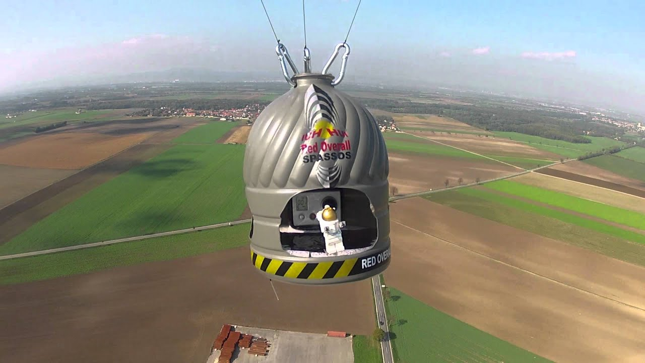 Felix Baumgartner: The best photos and videos from the edge of space