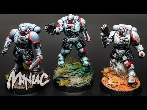 Can I Paint A Space Marine Under 30 Minutes??