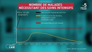 Coronavirus : les scénarios de propagation de l'épidémie - Reportage #cdanslair 20.03.2020