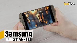 видео Обзор Samsung Galaxy A7 (2017) SM-A720F/DS: большой и влагозащищенный