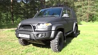 8 УАЗ ПИКАП Выкатная грузовая платформа в кузов пикапа АВС-Дизайн