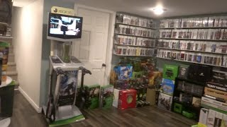 My XBOX Collection THE Biggest on youtube! Part 2 Xbox One, 360 & Original. This is my World!