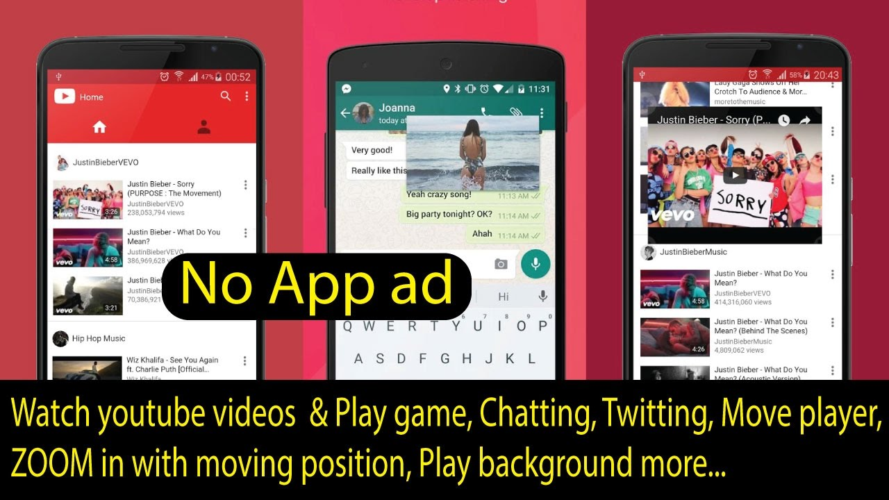 Watch Youtube Videos In A Floating Window On Android Youtube