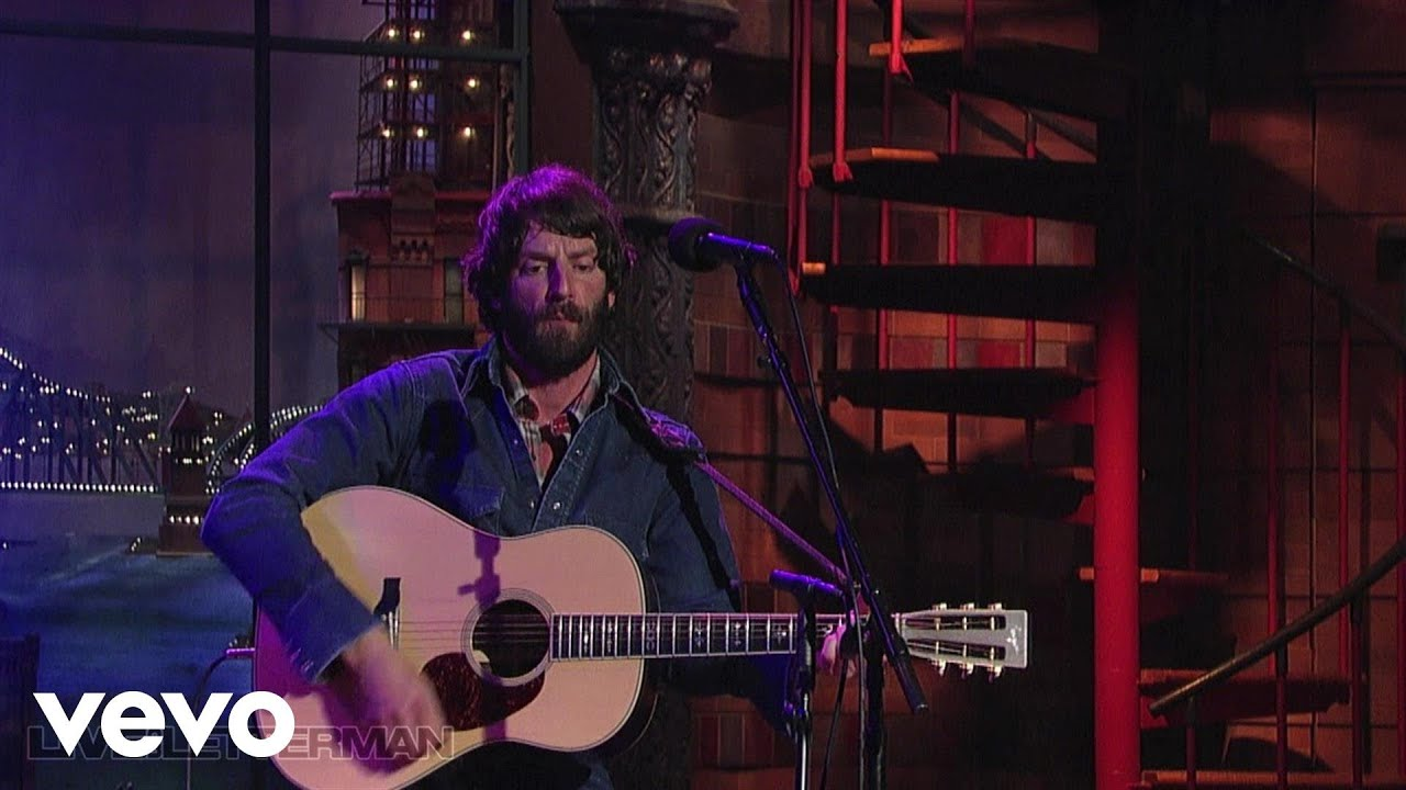 God Willin The Creek Dont Rise Live On Letterman Youtube