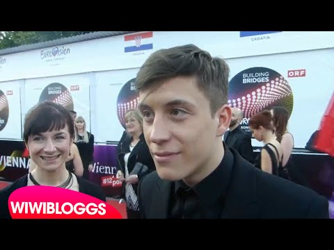 Eurovision 2015 red carpet: Loic Nottet (Belgium 2015) interview   wiwibloggs