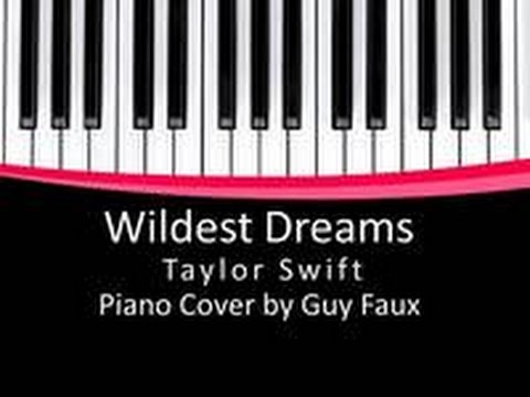 Wildest Dreams - Taylor Swift - Piano Cover/Overhead Tutorial