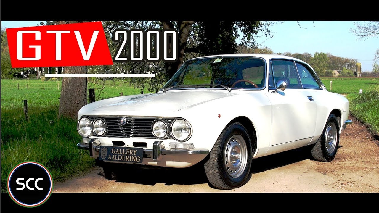 alfa romeo gtv 2000 bertone coupé 1973 - test drive in top gear