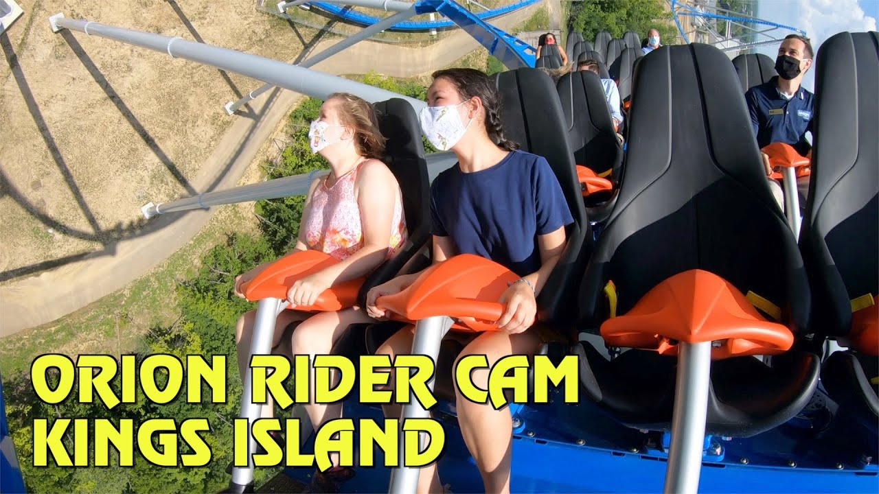 Orion Roller Coaster Rider Cam at Kings Island