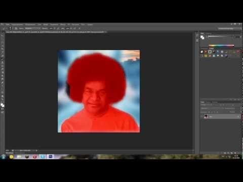 Photoshop CS6 Видео урок,как поменять фон
