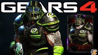 "Gears of War 4 - ""Optic Locust Sniper"" Character Multiplayer Gameplay! (Optic Gaming Esports DLC)"