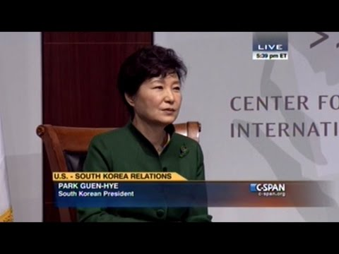 South Korean President Park Guen-Hye Talks About Their Relationship With The North And The West