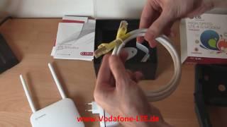 Vodafone LTE - Geräte anschließen und ausführlicher Praxistest - Telefon & Internet per LTE