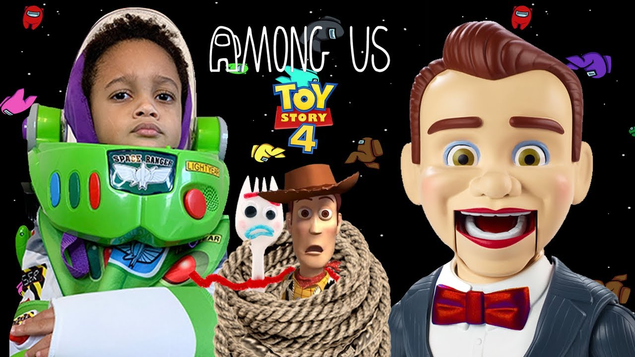 Imposter Toy Story 4 Benson Dummy Takes My Toys | Among Us In Real Life