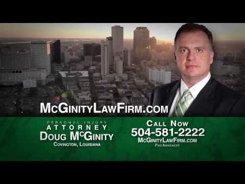 McGinity Law Firm | Personal Injury Law | Covington, LA
