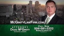McGinity Law Firm | Personal Injury Law | Covington, LA