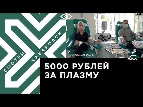 Нехватка доноров: в связи с пандемией в Хабаровске на 30 % упал объём сдачи крови