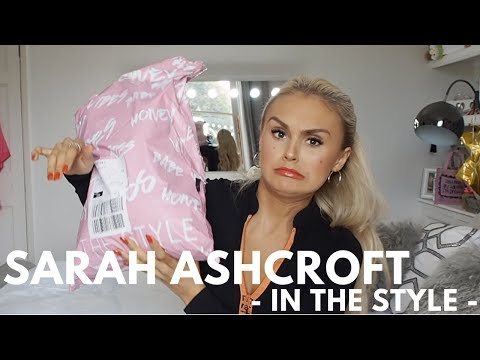 Sarah Ashcroft In The Style Haul - Try on - September
