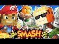 MINECRAFT SUPER SMASH BROTHERS