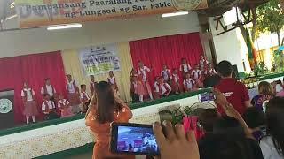 San Pablo Central Elementary School 2nd Place in Bigsaywit (Bigkas Sayaw Awit) #BuwanNgWika2018