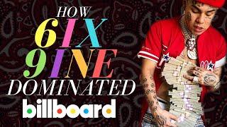 How 6IX9INE Dominated The Billboard Chart