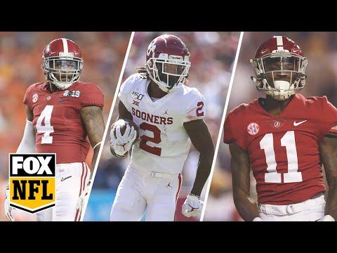 Joel Klatt reveals his top 5 wide receivers heading into the 2020 NFL Draft | FOX NFL