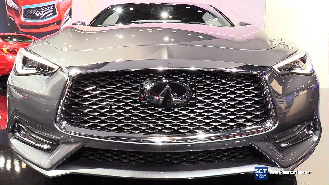 2018 infiniti supercar. interesting supercar 2018 infiniti q60 awd  exterior and interior walkaround 2017 new york  auto show in infiniti supercar
