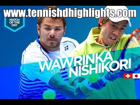 Stanislas Wawrinka vs Kei Nishikori Highlights HD 1/4 Australian Open 2015