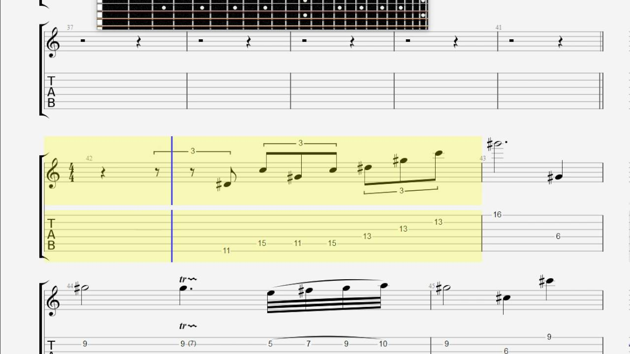 Chopin Frederic Nocturne In C Sharp Minor Guitar Tab Youtube