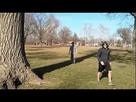 Derek Bartolazzi Backflip In Community Park Jacksonville Illinois 2013
