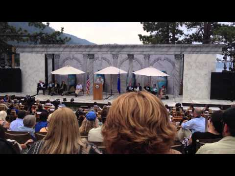 Al Gore's Speech at Lake Tahoe Aug 19, 2013