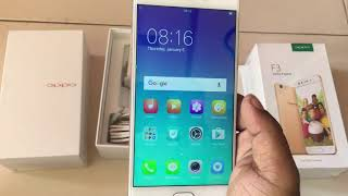 OPPO F3 Dual Selfie Camera |- Unboxing & Hands On! Rs 16,991