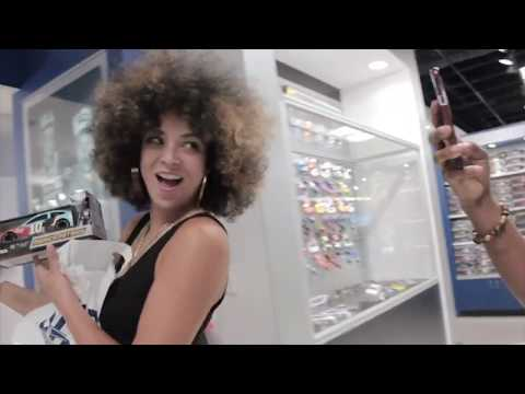On the Road with Kandace Springs – NASCAR