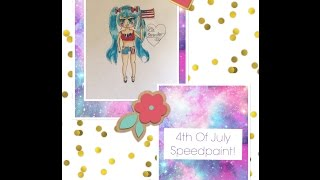 4th of July Miku! | Chibi Art