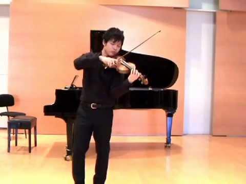 Daichi Nakamura  Bach Solo Sonata No.1 Adagio