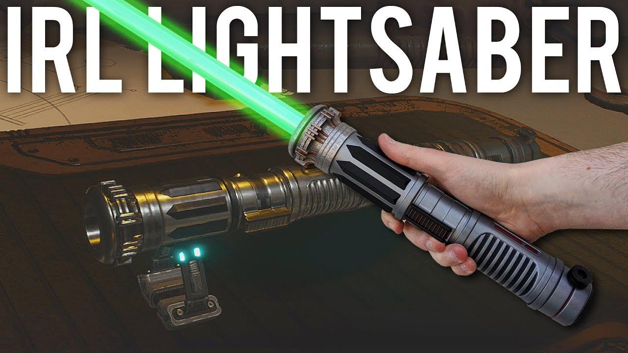 Eu construí meu sabre de luz Jedi Fallen Order na vida real + vídeo