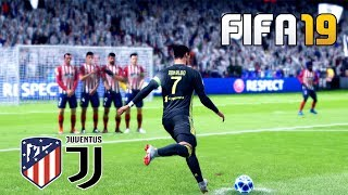 FIFA 19 | ATLETICO MADRID VS JUVENTUS | UEFA Champions League (UCL) | Gameplay PC