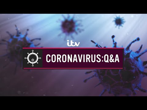 Coronavirus: Q&A - We Put Your Questions To The Experts | ITV News