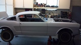 1965 Mustang Fastback Restoration Project- Undercarriage inspection all original