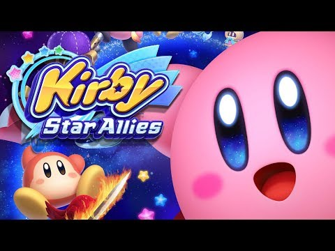 NEW Kirby Star Allies EARLY Gameplay FOOTAGE - [RANDOM PLAYS]