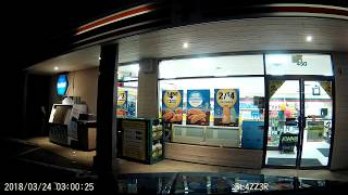 DASHCAM - Peeing On The 7-Eleven