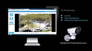 Milesight H.265 Mini PTZ Bullet Network Camera Tutorial-3D Positioning