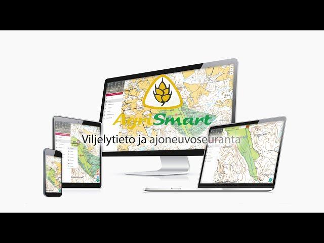 AgriSmart – Oma viljelytieto ja ajoneuvoseuranta aina mukanasi