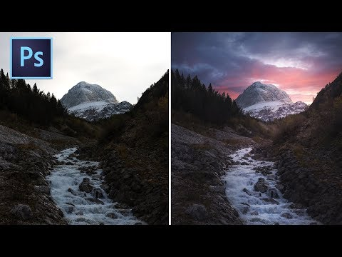 How To Change A Sky In Photoshop 2020