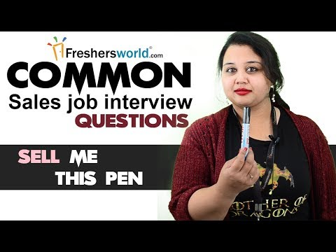 Tough sales job interview questions and how to answer them -