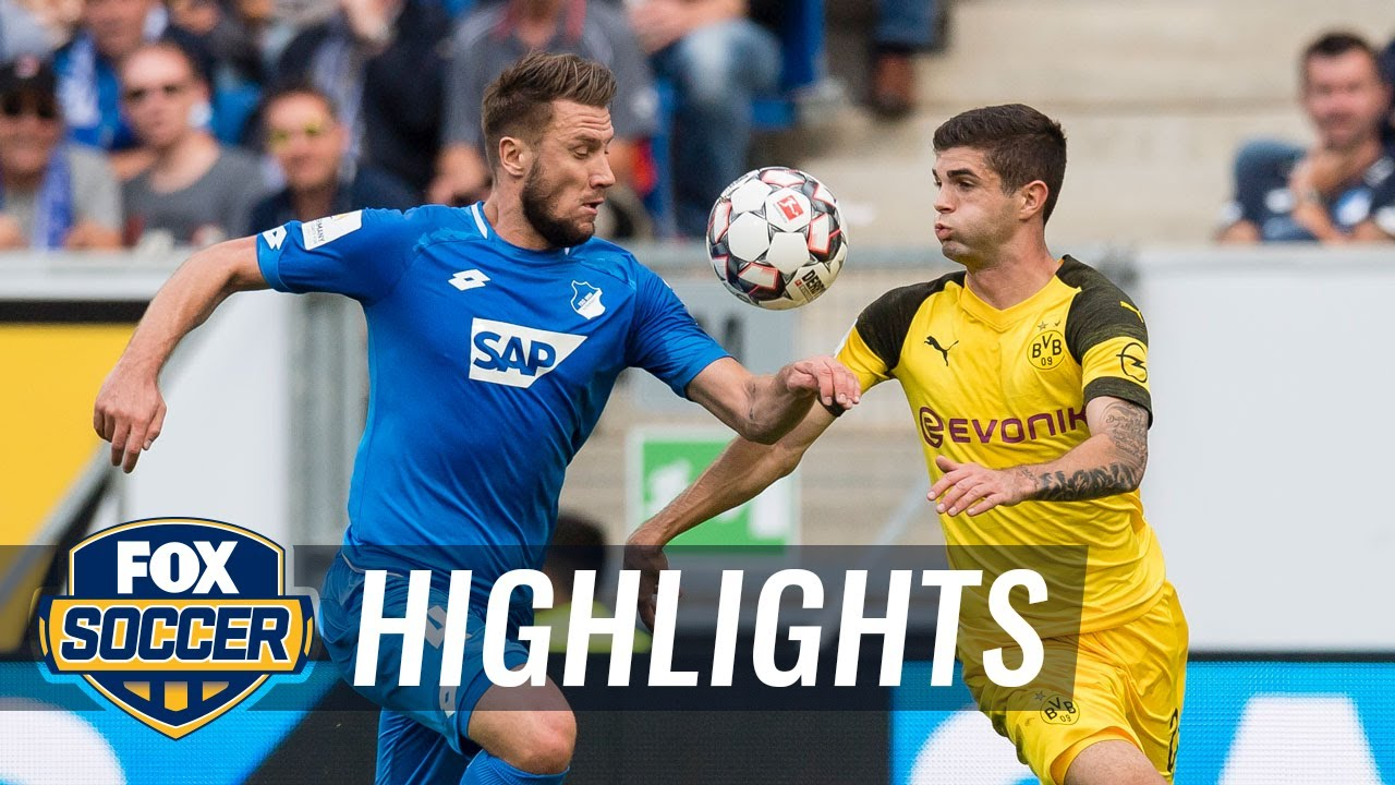 1899 Hoffenheim vs. Borussia Dortmund | 2018-19 Bundesliga Highlights