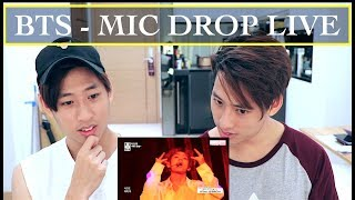 BTS - MIC DROP LIVE REACTION (?????) @BTS COMEBACK SHOW MP3